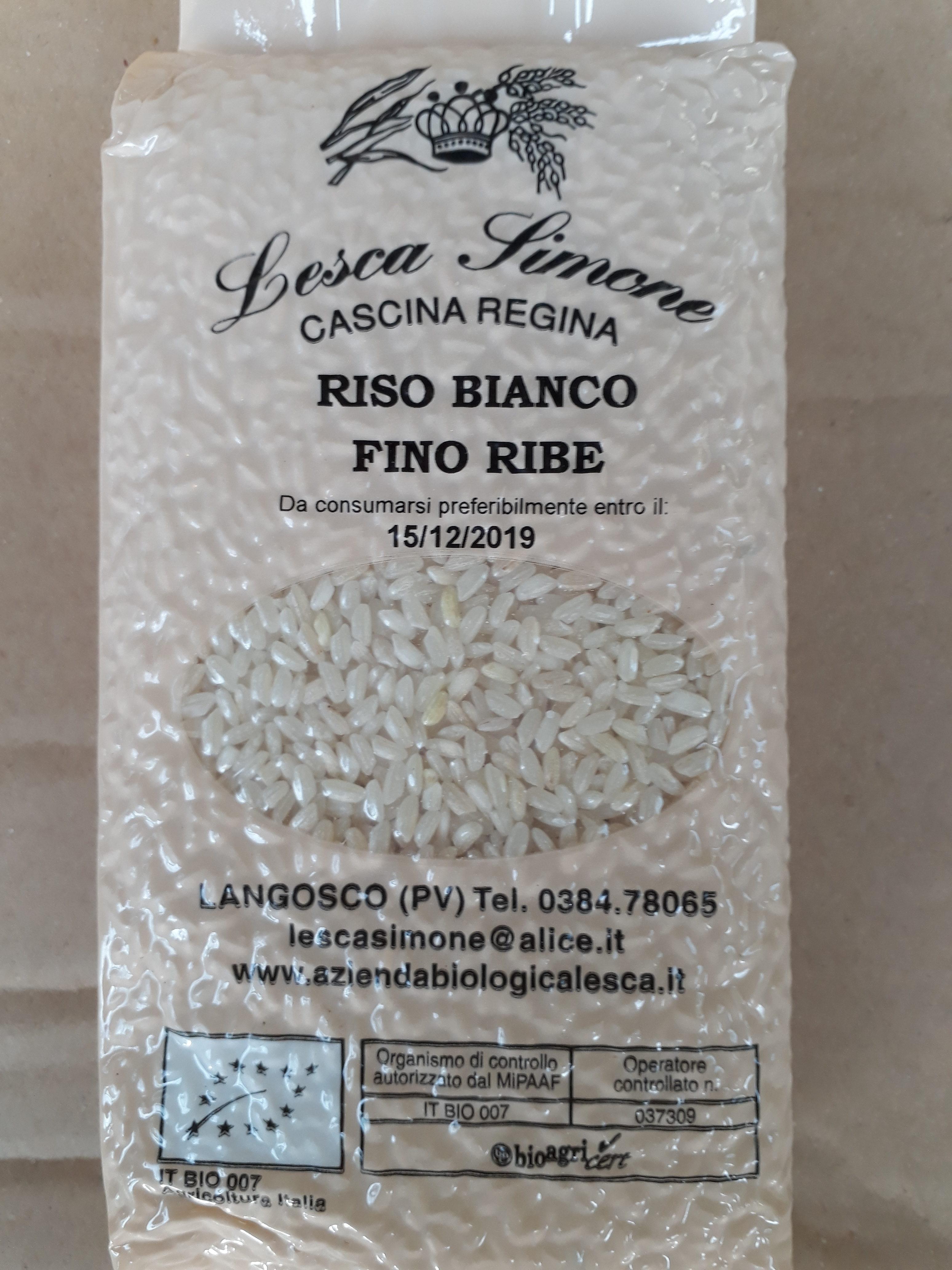 Riso fino ribe bianco confezione da 1 kg orto di zela for Cuocere 1 kg di riso